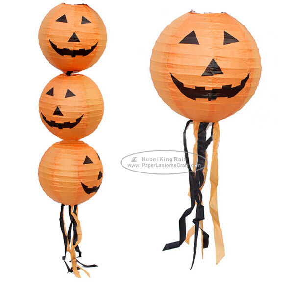 Hanging Halloween Paper Lantern Lights Paper Lanterns Craft